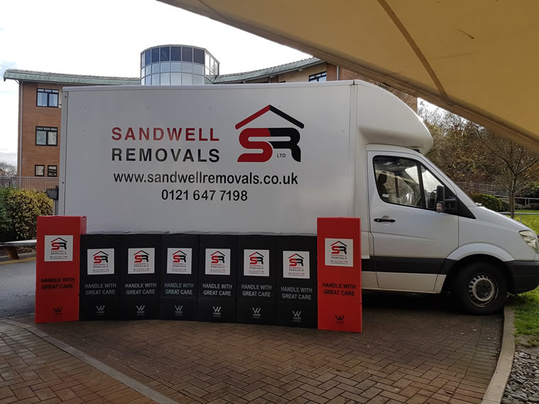 House Removals Walsall